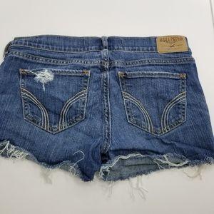 Hollister Jean Shorts, size 3, excellent condition